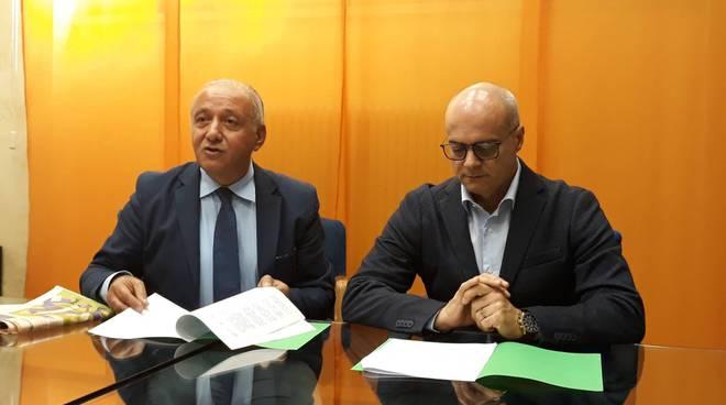 Nico Romagnuolo e Donato Toma Regione Molise