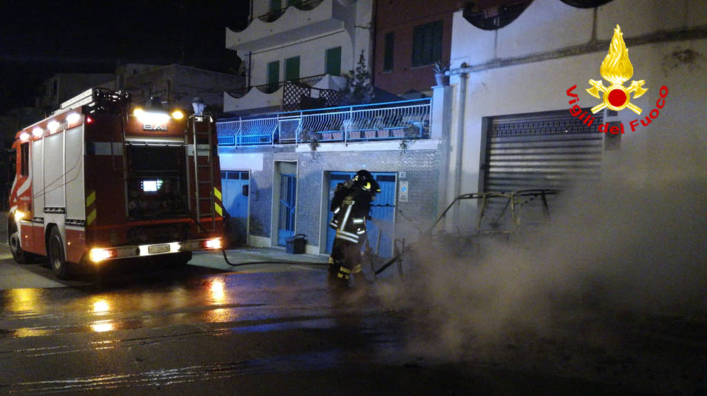 Incendio via pertini