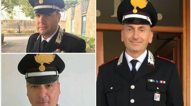 Carabinieri nominati ufficiali
