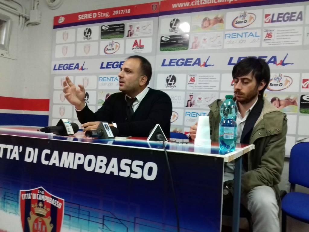 Danilo Leone Campobasso calcio