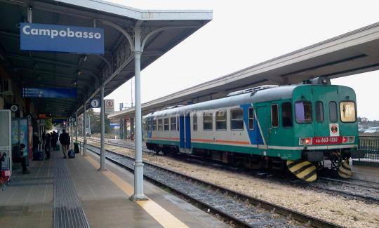 treno stazione Campobasso
