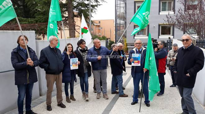 protesta medici Campobasso