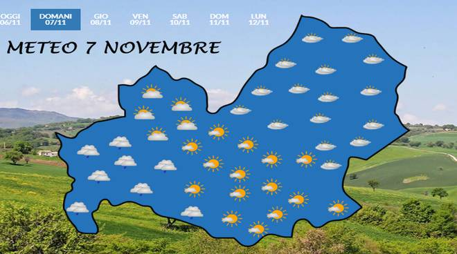 Meteo 7 novembre