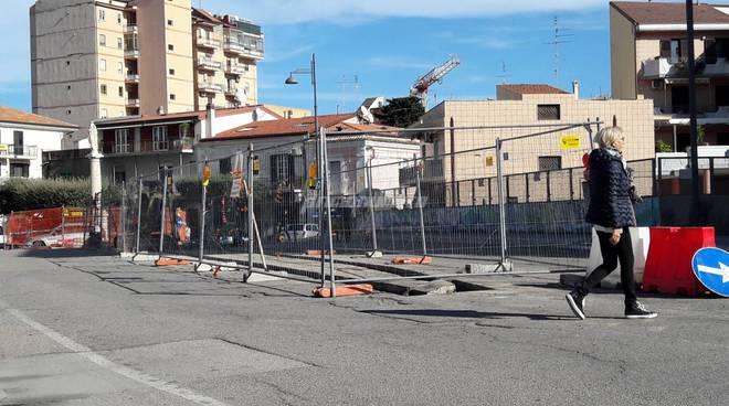 Spartitraffico via Abruzzi Madonnina
