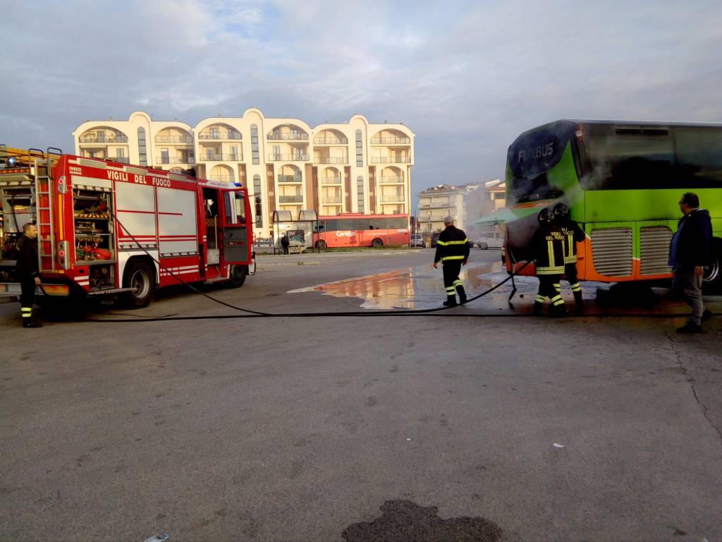 Bus Atm incendio