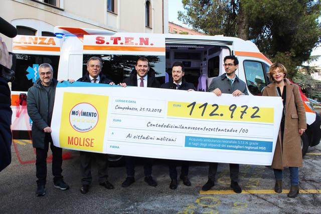 Ambulanza M5S