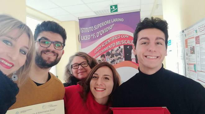 Liceo D'ovidio- premio Storie di alternanza