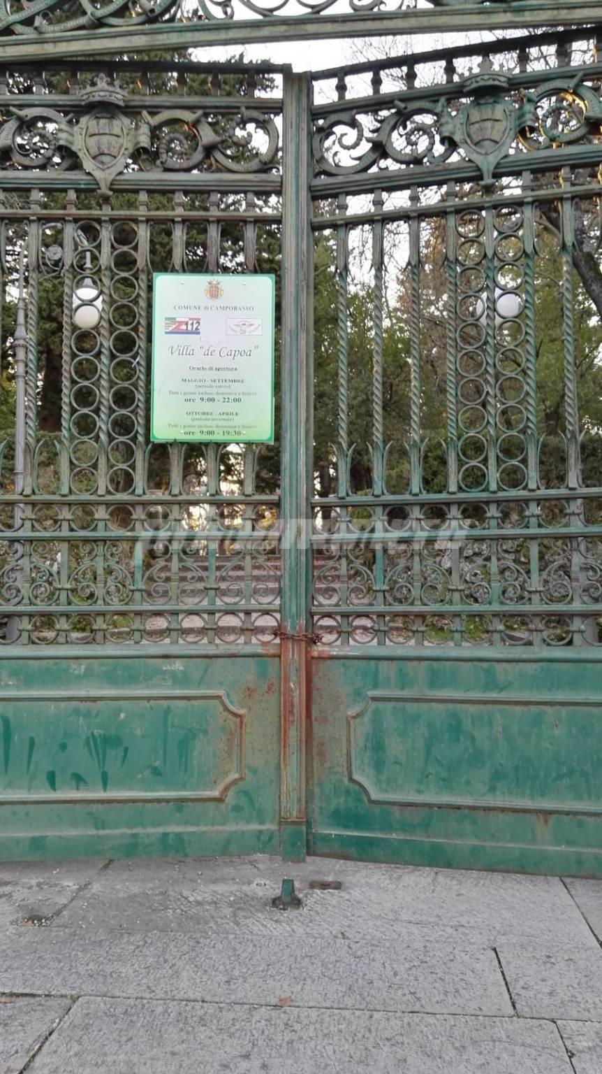 Villa de Capoa chiusa Campobasso