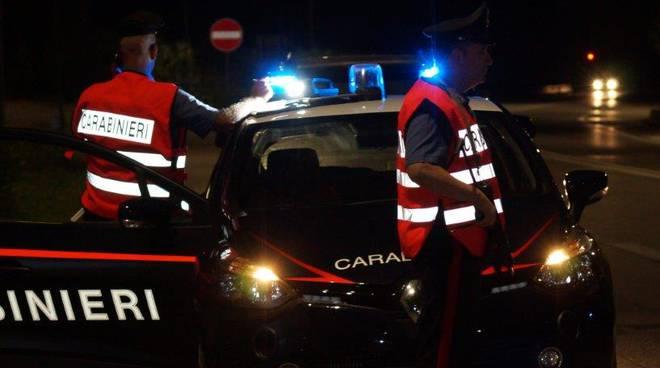 Carabinieri Termoli notte