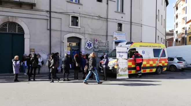 ambulanza Croce azzurra Campobasso