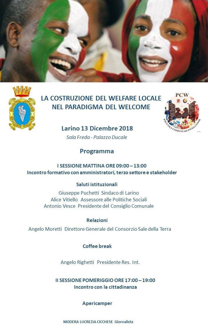 Convegno welfare a Larino