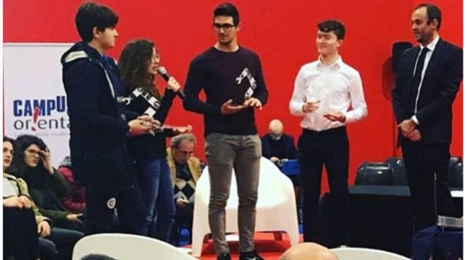 Studente Majorana premiato a Salone studente
