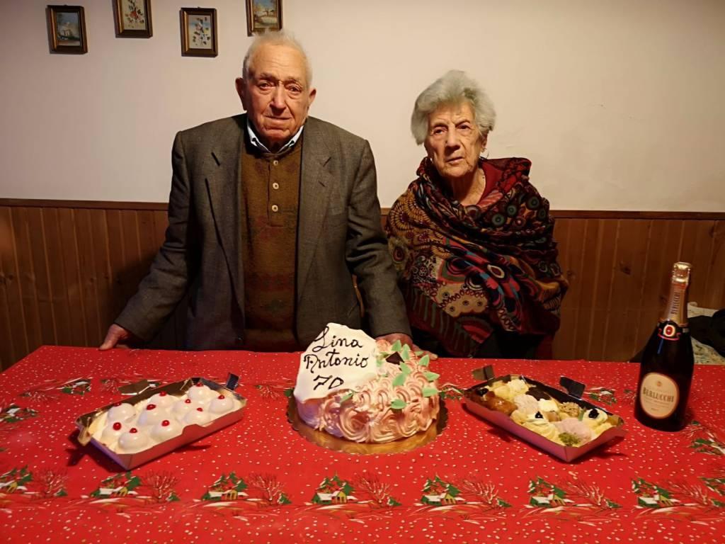 Anniversario Di Matrimonio 70 Anni.Lina E Antonio 70 Anni Di Matrimonio Il Segreto Rispetto E