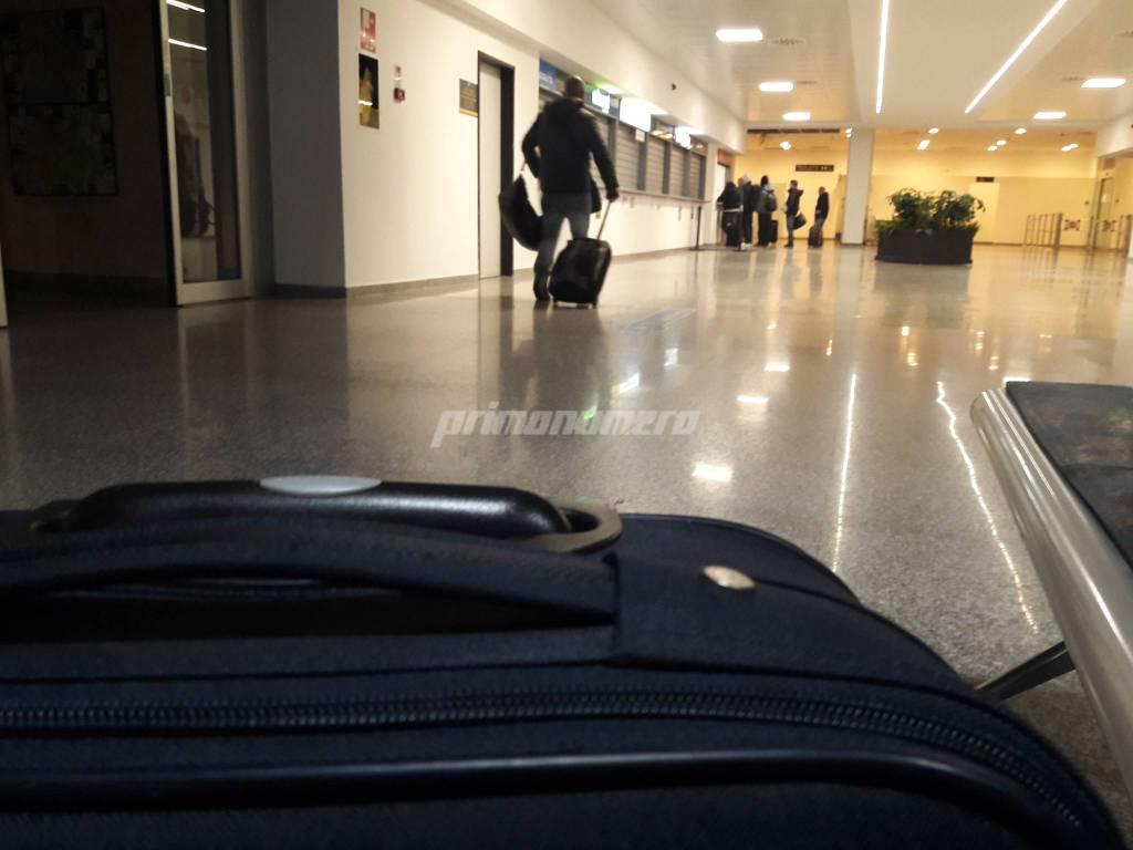 Aeroporto e valigie