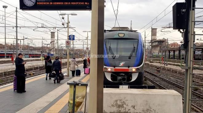 treno Roma Campobasso binario 20 bis
