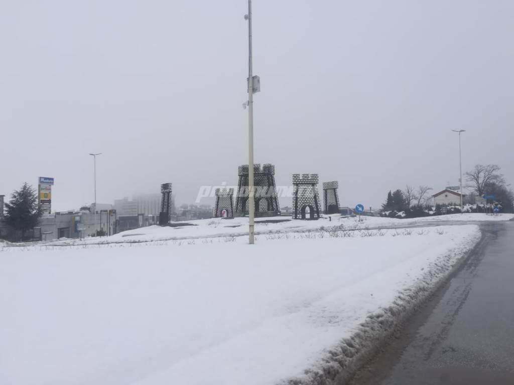 neve 7 gennaio Campobasso
