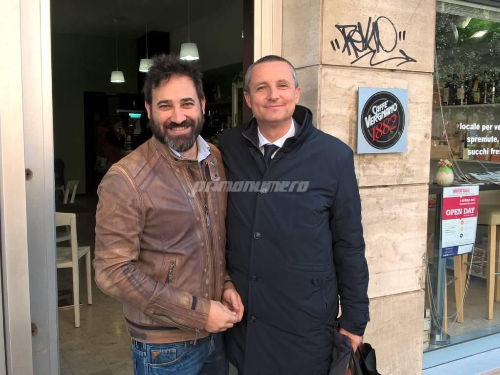 Stefano Ramundo e Stefano Sabatini Campobasso