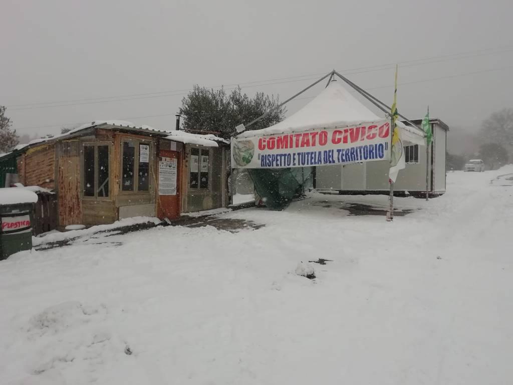 comitato Sassinoro discarica neve