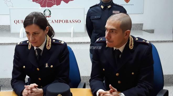 Polizia Campobasso Sabelli e Di Pasquale
