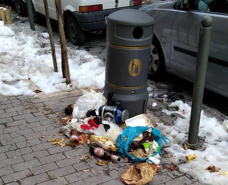 rifiuti abbandonati Campobasso