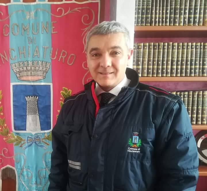 Luigi Valente sindaco di Vinchiaturo