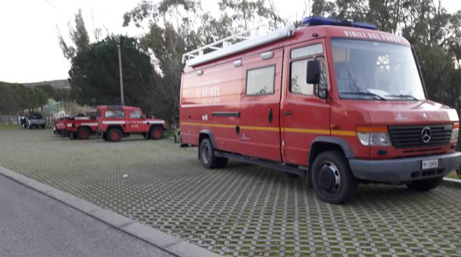 Vigili del fuoco ricerche Donatella