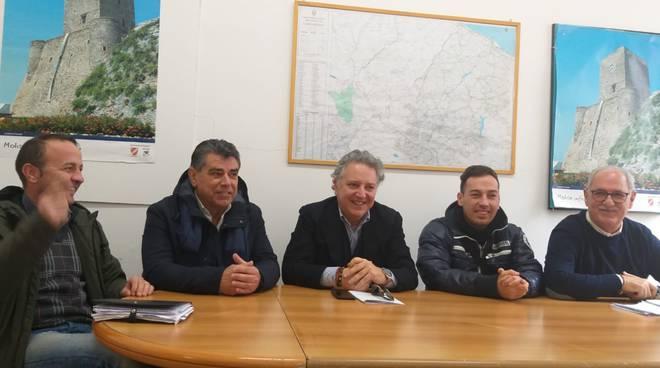 Conferenza centrodestra su Cosib