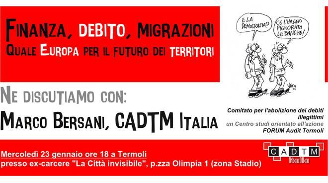 Incontro con Marco Bersani