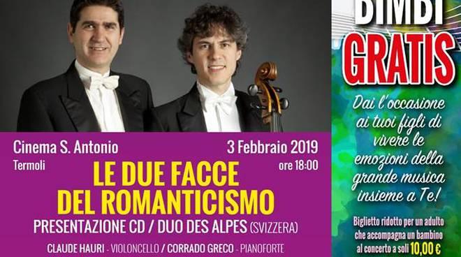 Duo des alpes in concerto