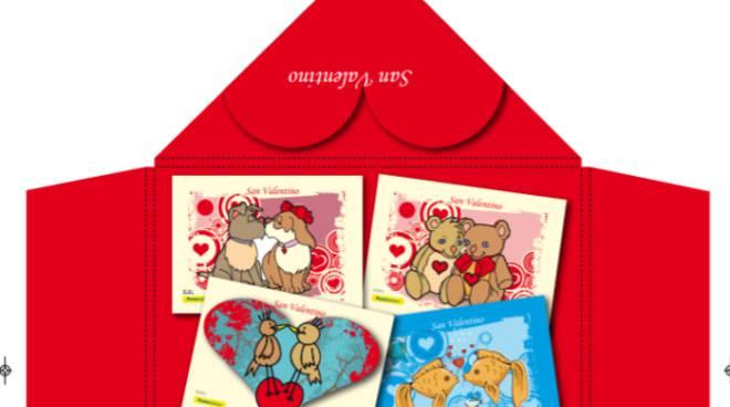 cartoline Poste per San Valentino