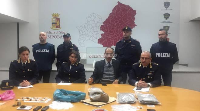 arresti spaccio marijuana cb
