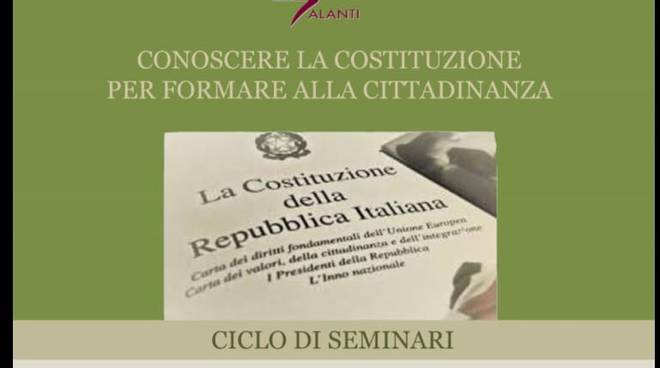 Seminari su Costituzione al Galanti