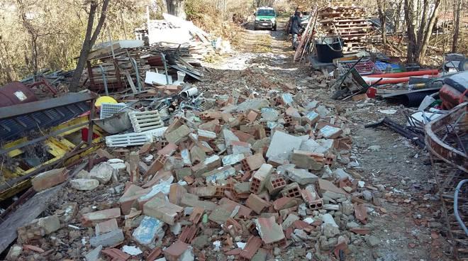 rifiuti abbandonati Campodipietra