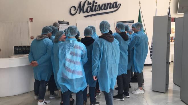 Studenti a La Molisana
