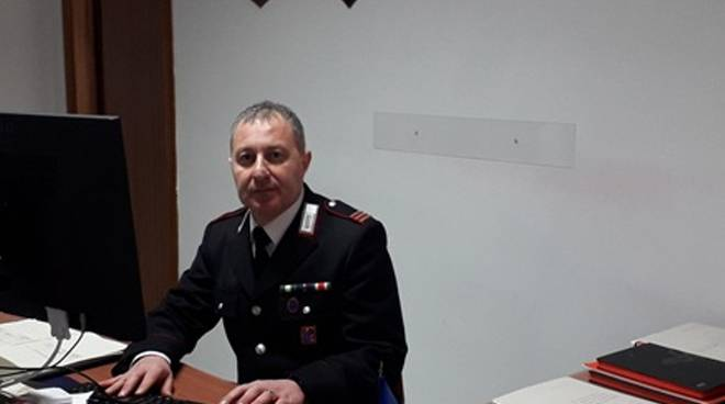 Francesco Pellegrino comandante carabinieri colletorto