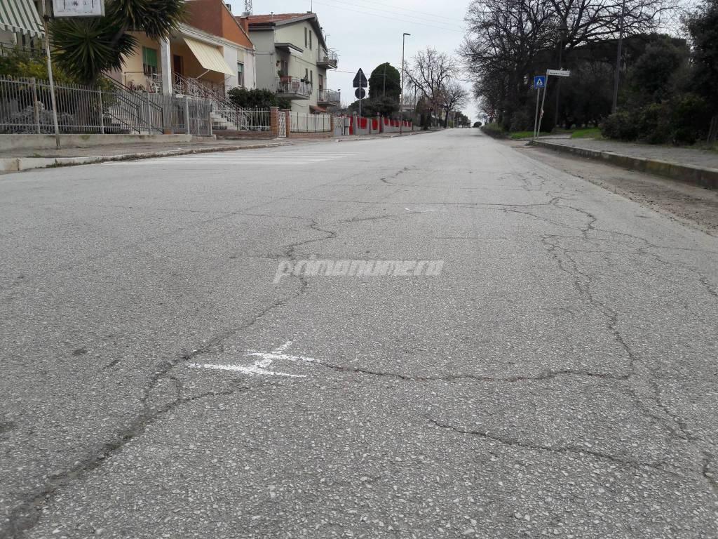 Sparatoria polizia via Mediterraneo Petacciato