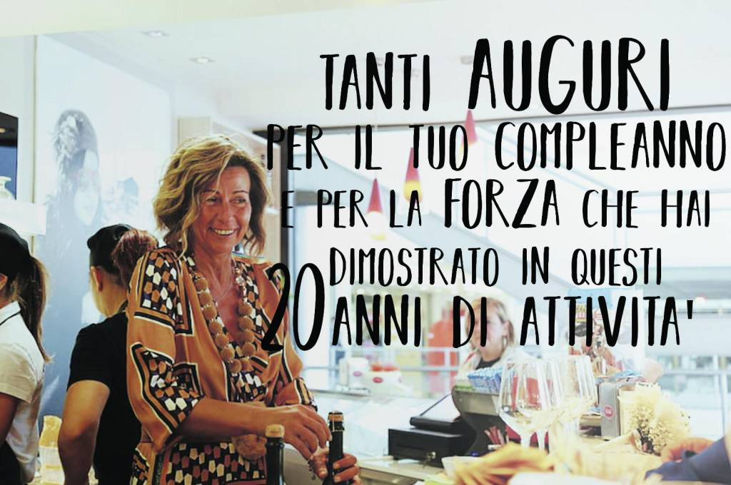 Doppi auguri per Rossana Pietrantonio