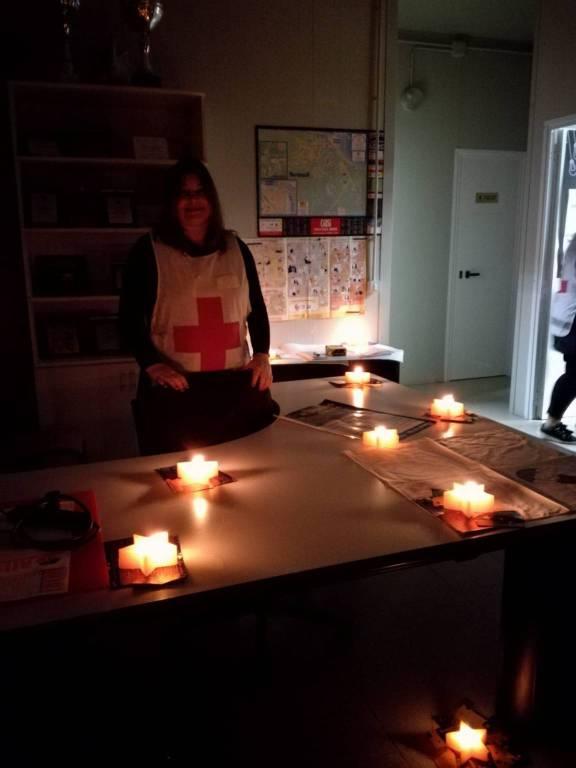 Croce rossa - M'illumino di meno