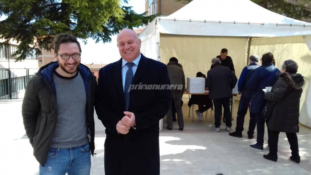 Antonio Battista e Antonio Tommassone primarie 2019 Campobasso