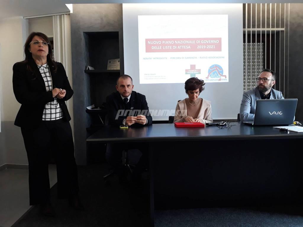 Magnocavallo, Aceti, Vitarelli liste di attesa sanità