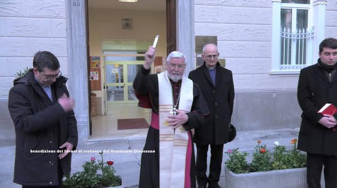 seminario diocesano benedizione Bregantini