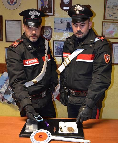 Carabinieri Isernia droga