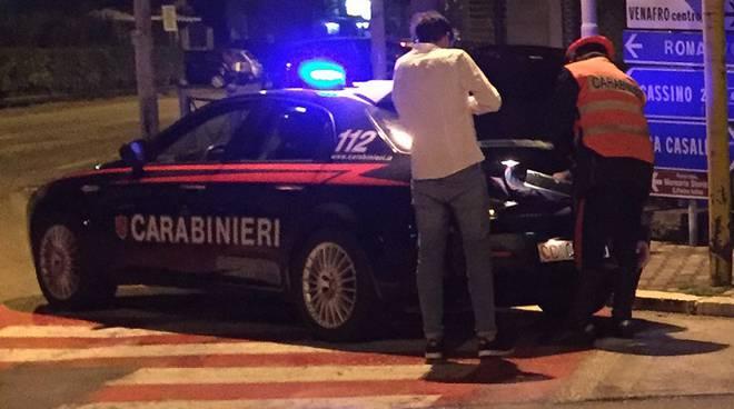 Carabinieri Isernia notte