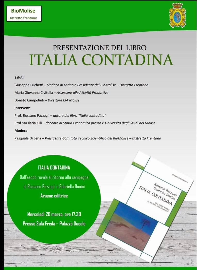 presentazione libro Italia contadina