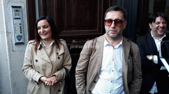 Micaela Fanelli e Vittorino Facciolla Pd