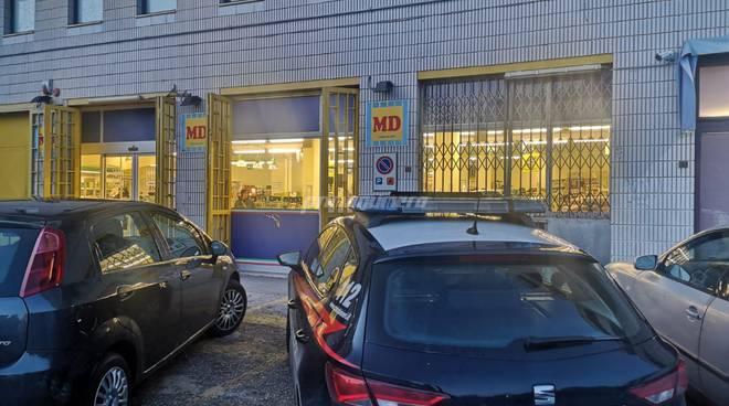 rapina supermercato via Puglia Campobasso