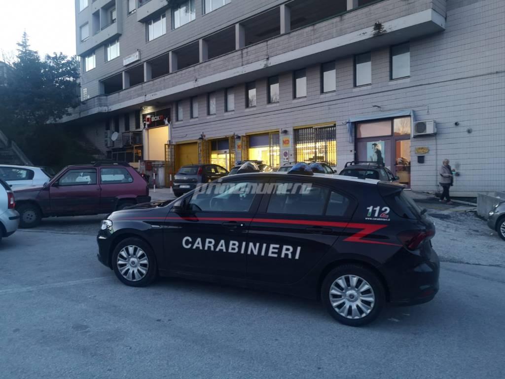 rapina via Puglia Carabinieri