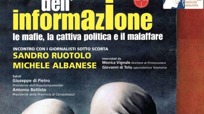 Sandro Ruotolo e Michele Albanese