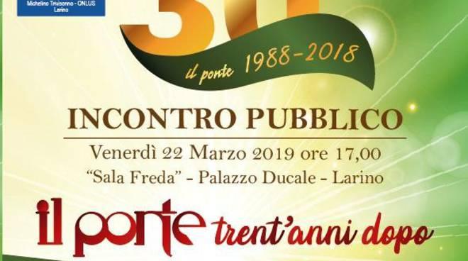 30 anni de Il Ponte