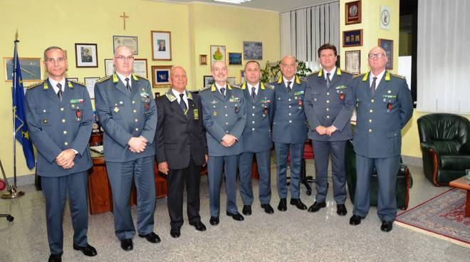 Visita Comando Guardia di Finanza